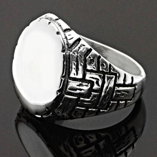 Çukur Dizisi Gümüş Erkek Yüzük 925 Ayar