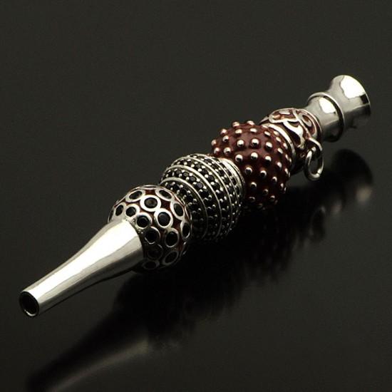 Özel Tasarım 925 Ayar Gümüş Nargile Sipsisi