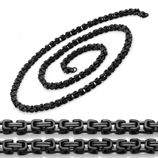 Oksitli 316 L Çelik Erkek Zincir