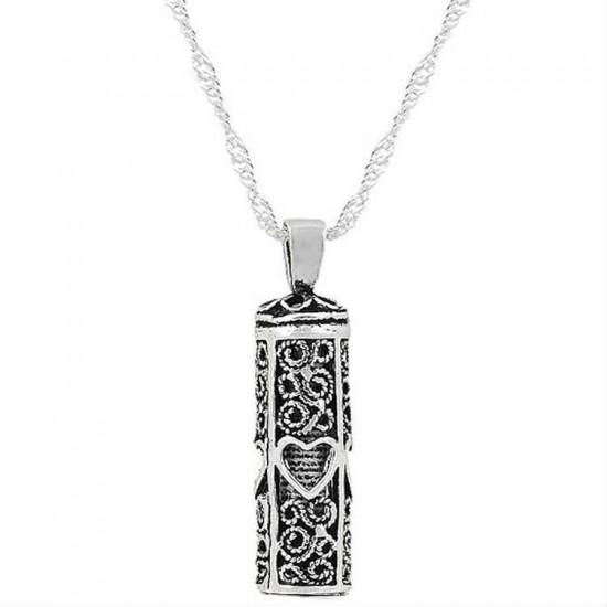 Telkari Kalp Cevşen-i Kebir 925 Ayar Gümüş Kolye Ve Zincir Kaçırılmaz Fırsat