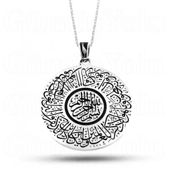 Nazar Duası 925 Ayar Gümüş Kolye