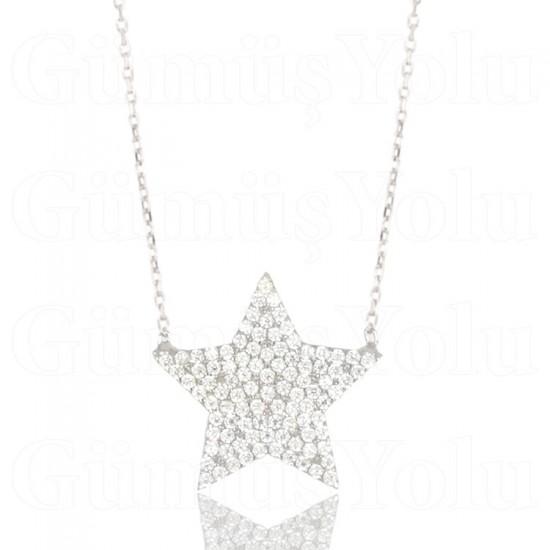 Yıldız Kolye 925 Ayar Gümüş
